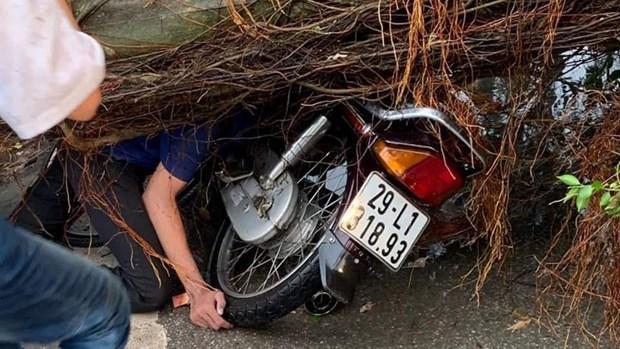 Hà Nội: Cây đổ ngổn ngang sau mưa lớn làm 1 người tử vong