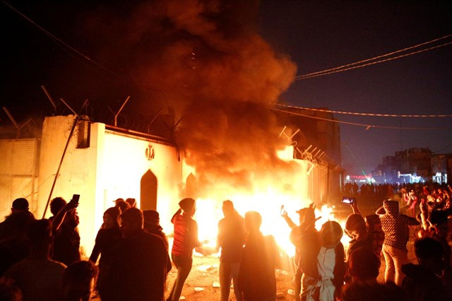 Iraq lên án vụ tấn công Lãnh sự quán Iran
