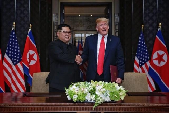 Hội nghị thượng đỉnh giữa Mỹ và Triều Tiên thành công tốt đẹp - 1