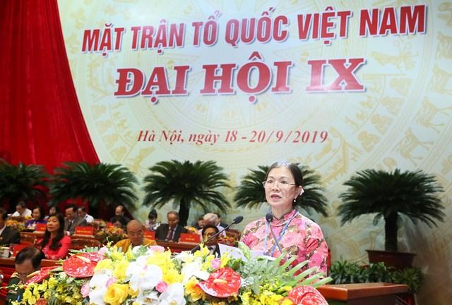 999 đại biểu chính thức tham dự Đại hội MTTQ Việt Nam lần thứ IX - 4
