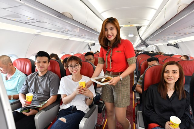 Vietjet tiếp tục khuyến mại lớn cho các đường bay tại Thái Lan với giá chỉ từ 6.500 đồng - 2