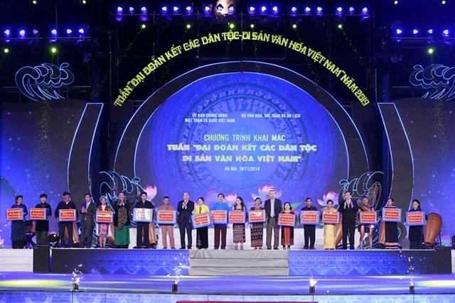 Khai mạc 'Tuần Đại đoàn kết các dân tộc - Di sản văn hóa Việt Nam' năm 2019 - 4