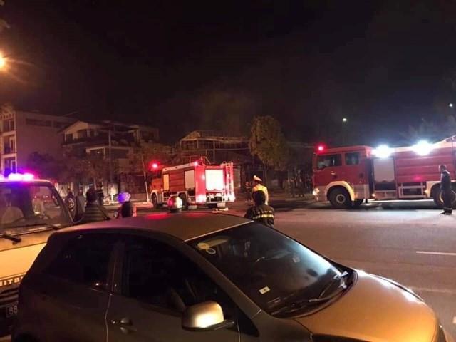Vĩnh Phúc: Cháy nhà hàng lúc rạng sáng, 4 người tử vong