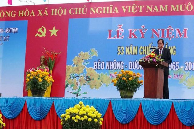 Bình Định: Tưng bừng khai lễ chiến thắng Đèo Nhông - Dương Liễu - 1