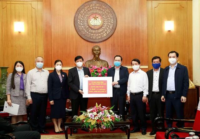 UBTƯ MTTQ Việt Nam phân bổ 150 tỷ đồng cho Bộ Y tế - 2
