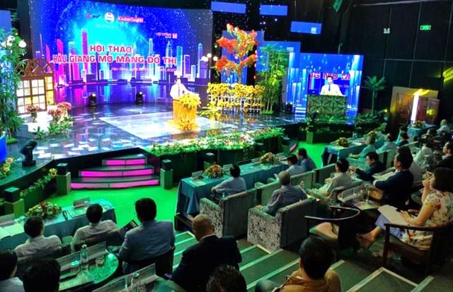 Hậu Giang tổ chức hội thảo mở mang đô thị