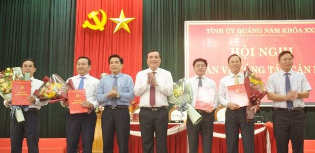 Quảng Nam: Bổ sung 4 Tỉnh ủy viên