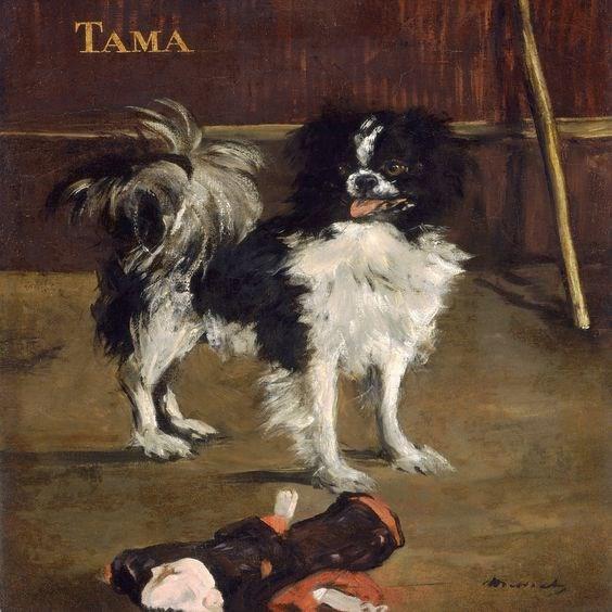 Chân dung chú chó xuất hiện trong những siêu phẩm hội họa - 9