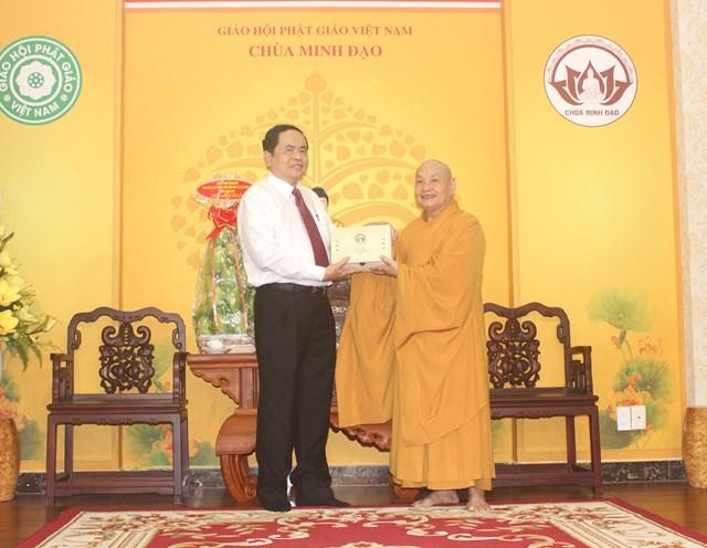 Phật tử cả nước luôn gắn bó, đồng hành trong khối đại đoàn kết toàn dân tộc - 2