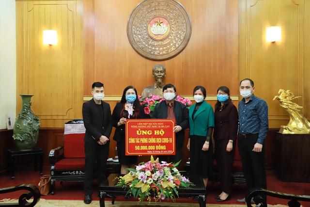 BẢN TIN MẶT TRẬN: Phó Chủ tịch Nguyễn Hữu Dũng tiếp nhận ủng hộ phòng, chống Covid-19