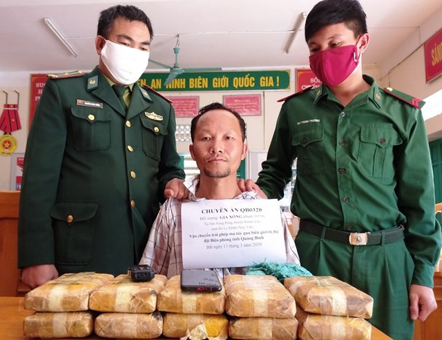 Quảng Bình: Bắt giữ đối tượng vận chuyển gần 61 nghìn viên ma túy qua biên giới - 1