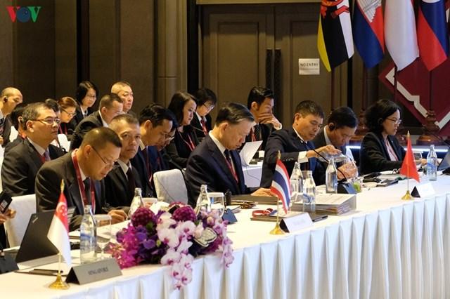 Hội nghị Bộ trưởng ASEAN+3 về phòng, chống tội phạm xuyên quốc gia - 1