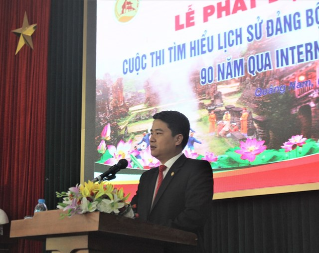 Phát động cuộc thi trực tuyến tìm hiểu Lịch sử Đảng bộ tỉnh Quảng Nam