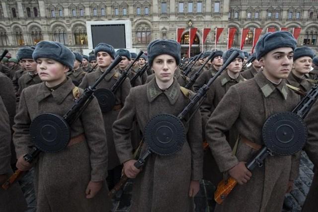 [ẢNH] Nga tổng duyệt cho lễ diễu binh lịch sử trên Quảng trường Đỏ - 5
