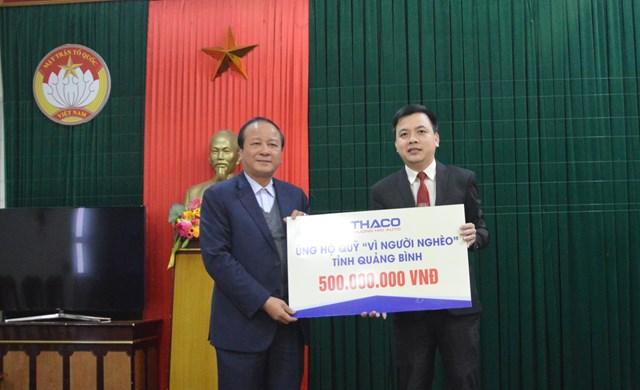 Thaco hỗ trợ 25 tỷ đồng để người nghèo đón Tết - 1