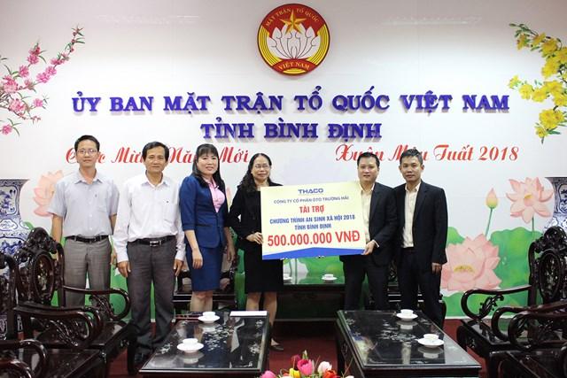 Thaco hỗ trợ 25 tỷ đồng để người nghèo đón Tết