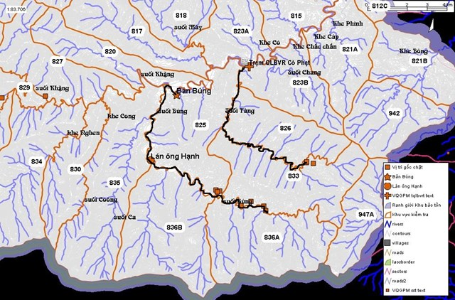 Nghệ An: Vườn Quốc gia Pù Mát bị đốn hạ gần 100 cây gỗ - 4