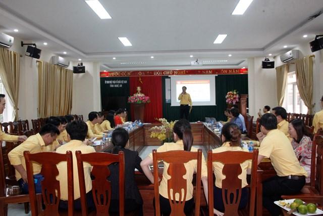 MTTQ Nghệ An: Thi ý tưởng slogan và kỹ năng thuyết trình cho cán bộ Mặt trận - 1