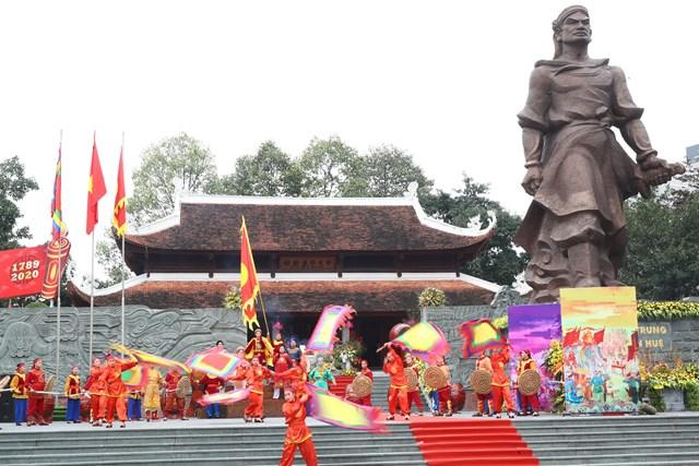 [Ảnh] Lễ hội kỷ niệm 231 năm chiến thắng Ngọc Hồi - Đống Đa - 8