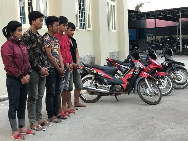 Triệt phá đường dây trộm xe máy liên tỉnh