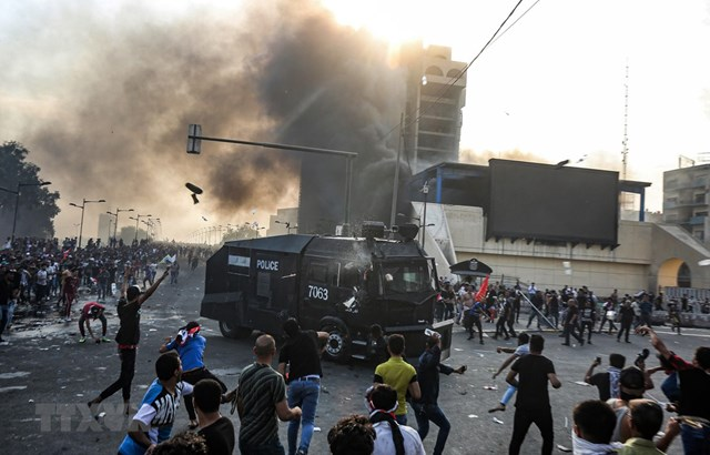 Iraq tiếp tục nóng
