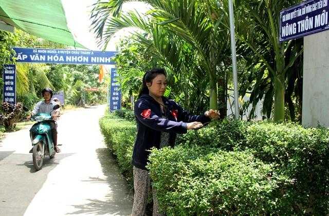 Hậu Giang: Huyện Châu Thành A đạt chuẩn nông thôn mới - kết quả của lòng dân