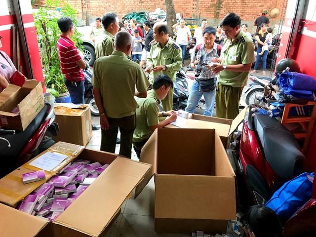 TP Hồ Chí Minh: Phát hiện hàng ngàn sản phẩm thuốc tân dược nhập lậu