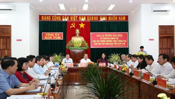 Phó Thủ tướng Thường trực Trương Hòa Bình: Cán bộ phải không ngại đối thoại với dân