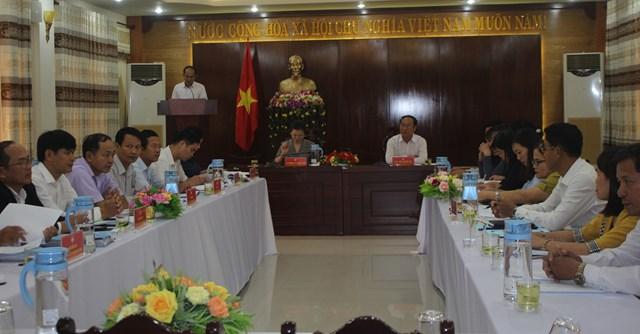 Phó Chủ tịch Trương Thị Ngọc Ánh kiểm tra việc lấy ý kiến người dân về xây dựng NTM ở Quảng Nam - 1