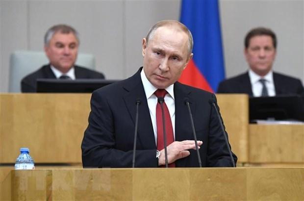 Nga thông qua đề xuất sửa đổi Hiến pháp, ông Putin có thể tranh cử vào năm 2024