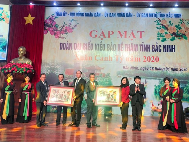 Xuân quê hương 2020: Gặp mặt Đoàn kiều bào tiêu biểu tại Bắc Ninh - 3