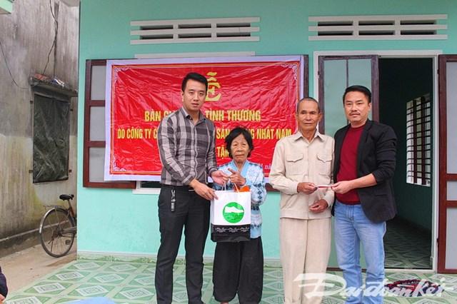 Quảng Nam: Bàn giao 2 nhà tình thương cho 2 hộ gia đình xã Bình Trung