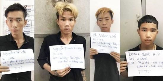 Đà Nẵng: Bắt nhóm thiếu niên trộm tài sản của khách ở bãi biển