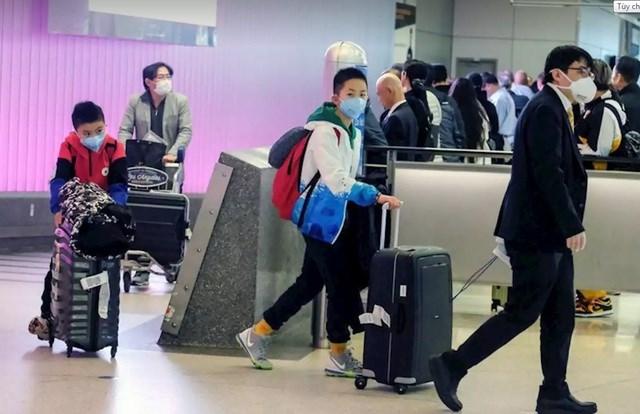 Các hãng hàng không đồng loạt hủy bay đến Trung Quốc