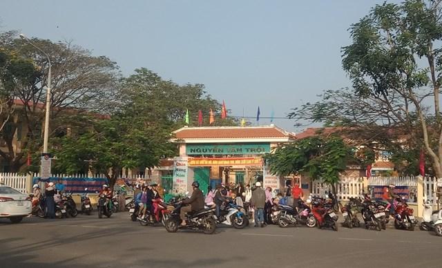 Quảng Nam cho học sinh một số trường tại đô thị nghỉ học