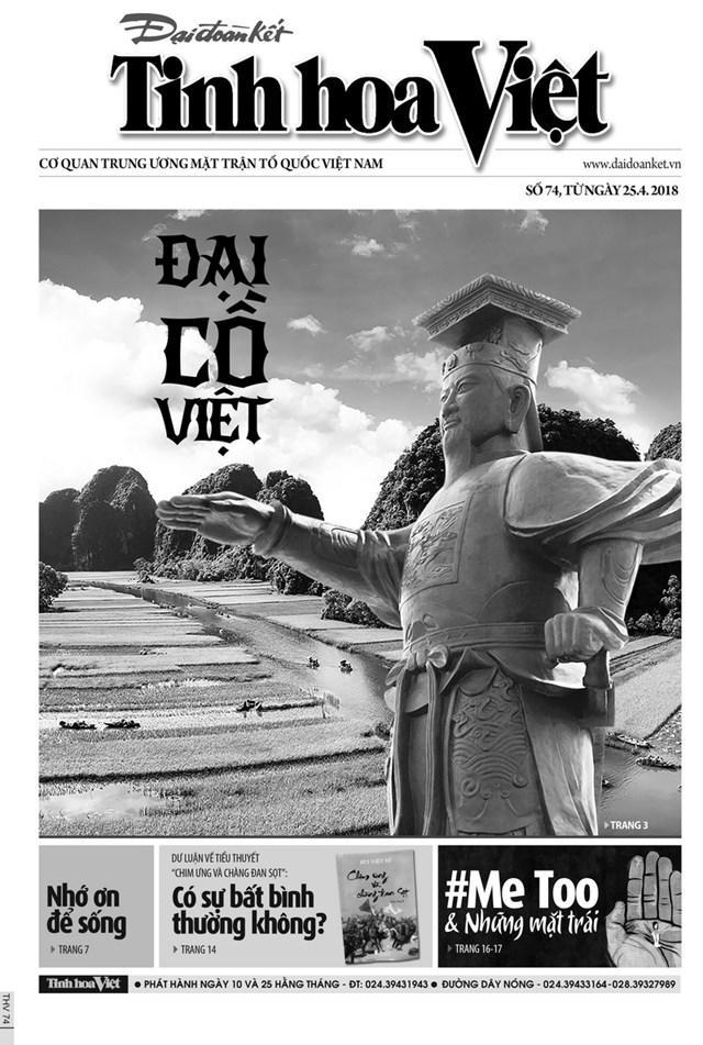 Đón đọc Tinh hoa Việt số 74, phát hành ngày  25/3/2018