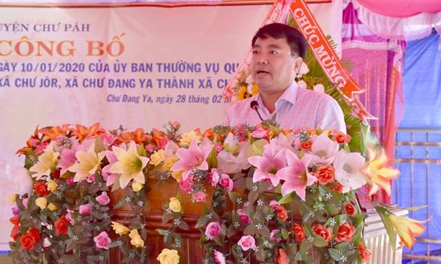 Gia Lai: Sáp nhập 2 xã thuộc huyện Chư Păh