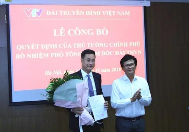 Ông Lê Ngọc Quang được bổ nhiệm Phó Tổng Giám đốc VTV