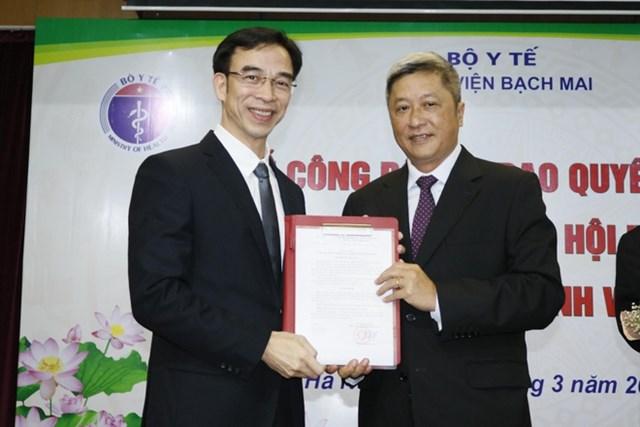 Giám đốc Bệnh viện Tim Hà Nội được bổ nhiệm làm Giám đốc Bệnh viện Bạch Mai