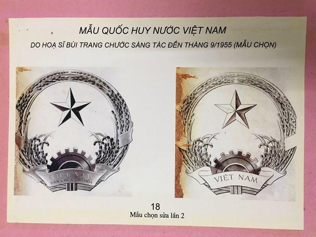 Người vẽ mẫu Quốc huy Việt Nam - 3