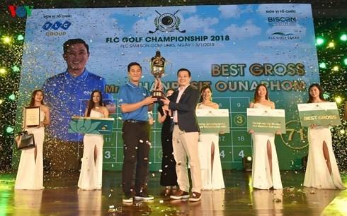 Golfer người Lào vô địch FLC Golf Championship 2018