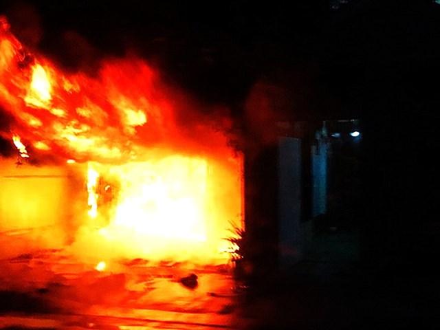 Cụ ông thoát đám cháy nhà nhờ đi thể dục sáng mùng 5