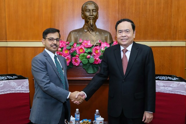 Thắt chặt hơn nữa mối quan hệ hữu nghị Việt Nam - Ấn Độ