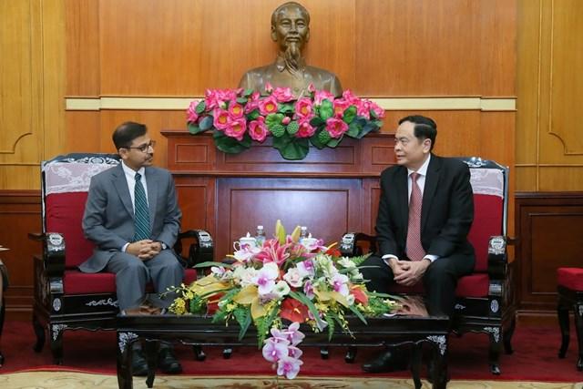Thắt chặt hơn nữa mối quan hệ hữu nghị Việt Nam - Ấn Độ - 1