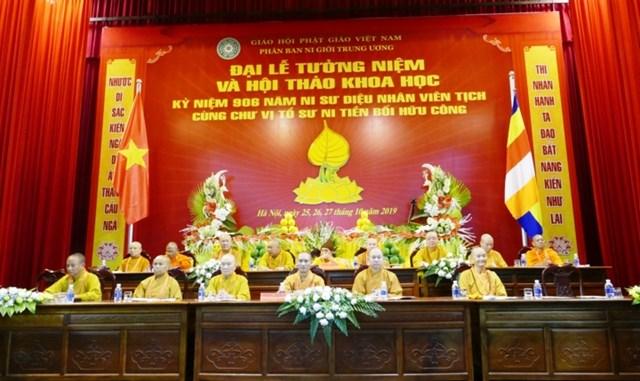 Khai mạc Hội thảo 'Nữ Phật tử với Phật giáo Việt Nam'