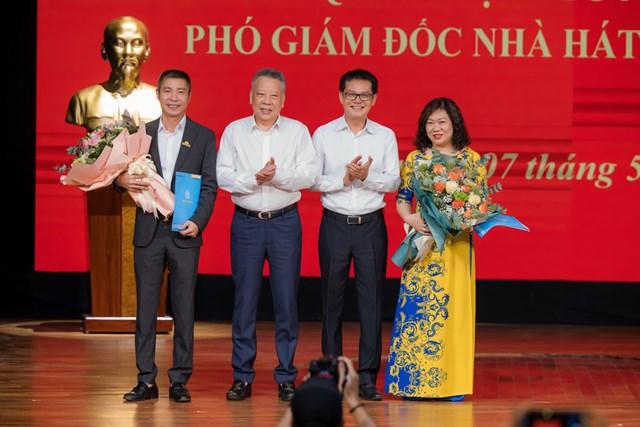 NSND Công Lý được bổ nhiệm Phó Giám đốc Nhà hát kịch Hà Nội