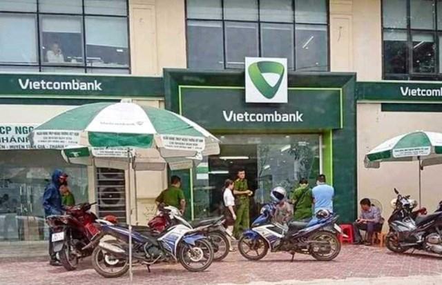 Thông tin chính thức vụ cán bộ công an nổ súng tại chi nhánh ngân hàng