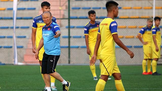 HLV Park Hang Seo: Chưa sẵn sàng cho mục tiêu World Cup - 1