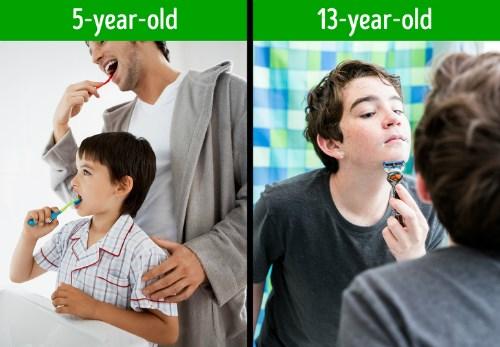 10 điều con bạn phải học cách tự làm trước tuổi 13 - 3