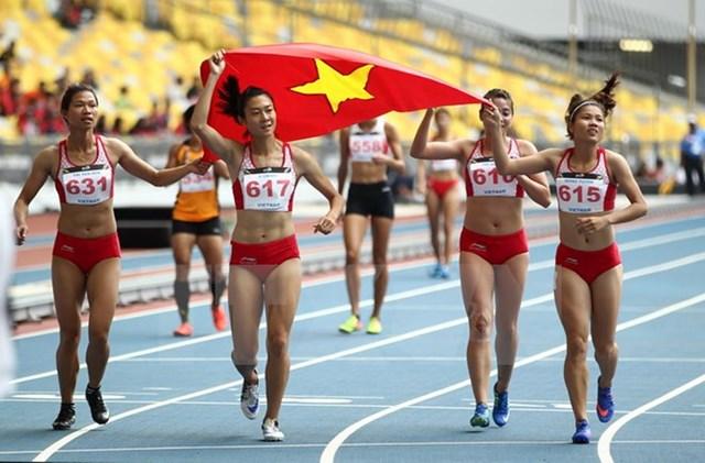 Điền kinh Việt Nam hướng tới SEA Games 30: Thách thức ngôi đầu